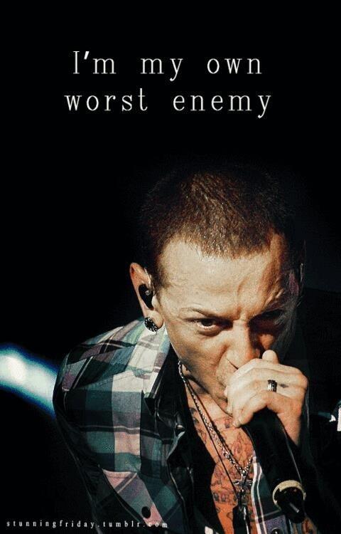 I'm my own worst enemy