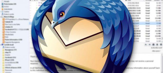 انتقال اطلاعات در Mozilla Thunderbird