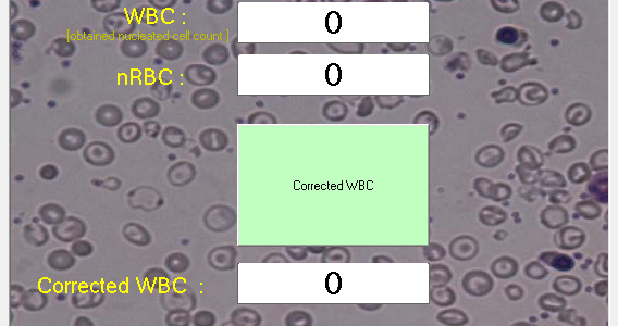 برنامه Corrected WBC calculator Ver. 1.0.0