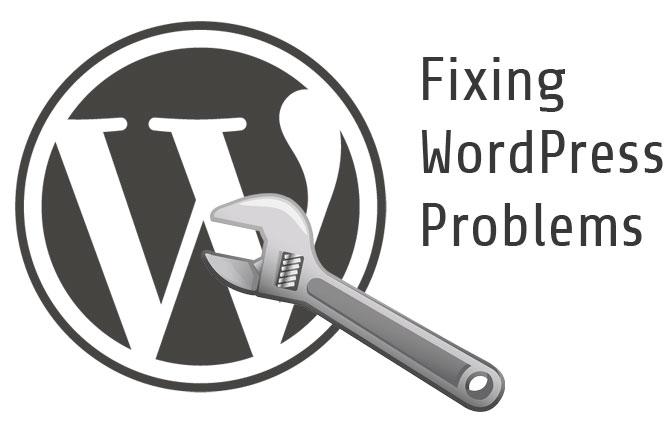 wordpress-problems