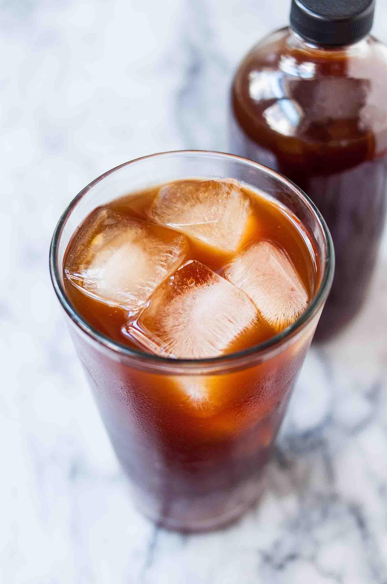 قهوه دَمِ سرد ( Cold Brew Coffee )
